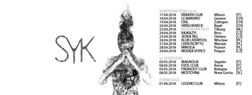 SYK TOUR-GODFLESH